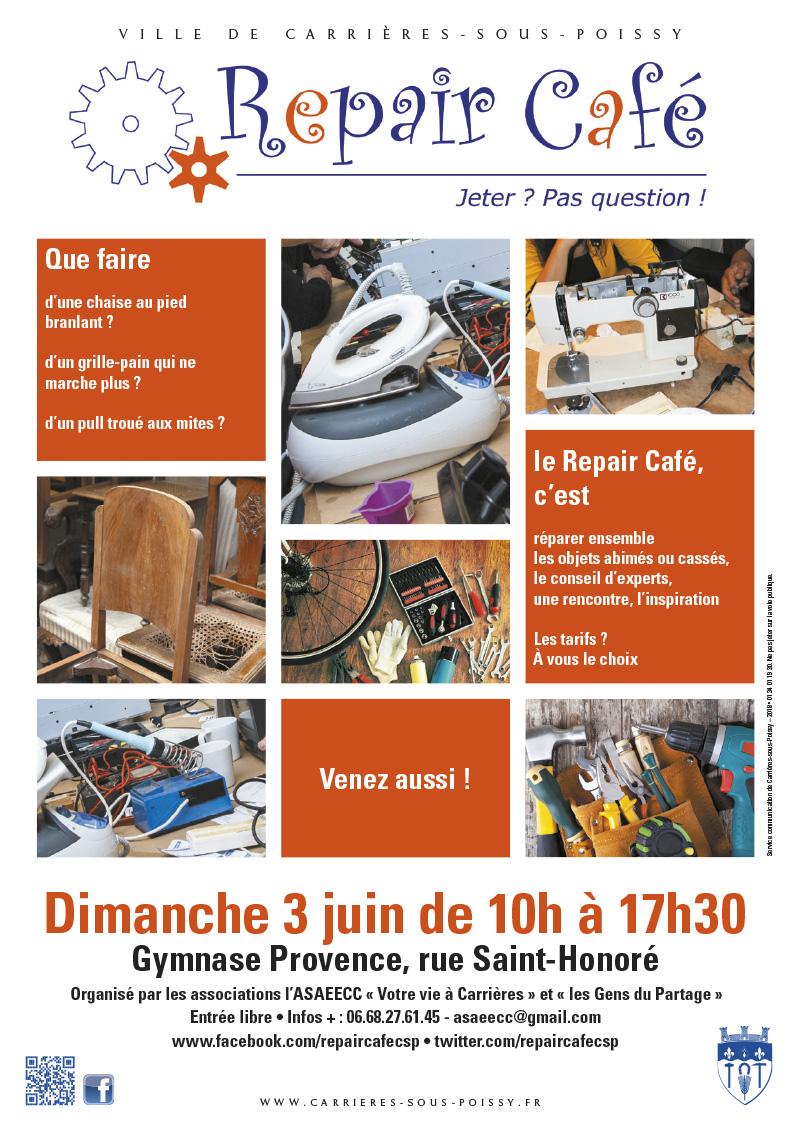 Repair Café - Ville de Carrières-sous-Poissy (78955..